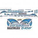 Dekorbogen BlueEdition /- EasyGlider PRO /- Multiplex:...