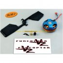 Upgrade Kit FunCopter V2 /- FunCopter /- Multiplex: 223031