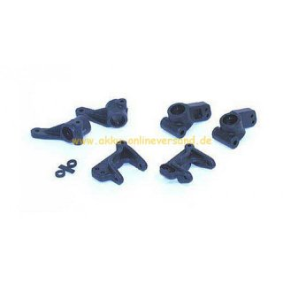 Front Spindles/Carriers & Hubs /- TLR Twenty Two Buggy /- Horizon: LOSA4124