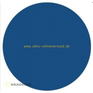 ORACOVER / Bügelfolie / Oralight / Transparent / light transparent blau / B: 60 cm / L: 100cm /- Oracover: 31-059